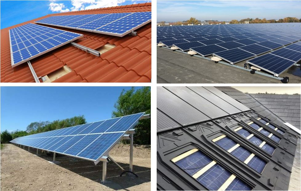 Solar PV mounting